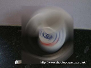 "Blurred image of the picture at ""Shoot Up or Put Up"" (another diabetes blog)"
