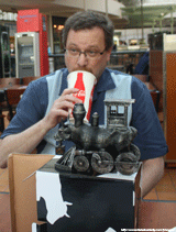 Scott Strange, Diet Coke, and a Cow Train...