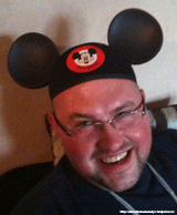 Scott with his new Mickey Ears!