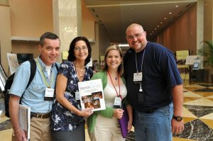 Picture of Bernard, Amy, Kerri, & Scott at FFL 2010
