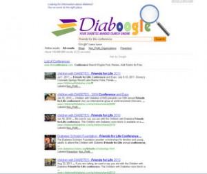 Screen Capture of Diaboogle.com