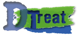 "Logo for the ""DTreat"" group and webpage"