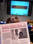 Picture of a newsletter from 5/2010 featuring Kathy White's story
