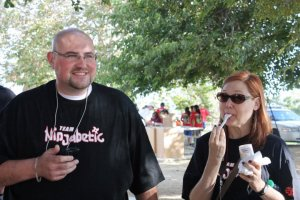 Scott & Lee Ann, Ninjabetic weekend, 2010. Thanks for the pic, @saraknic!