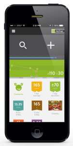 Screenshot of mySugr Companion 2.1