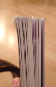 So many pages dog eared!