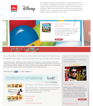 Screenshot of the t1everydaymagic.com website