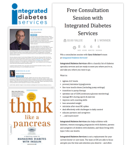 Free Session with Gary Scheiner's Team at Integrated Diabetes Services