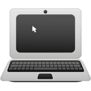 %consumer electronics Laptop-icon