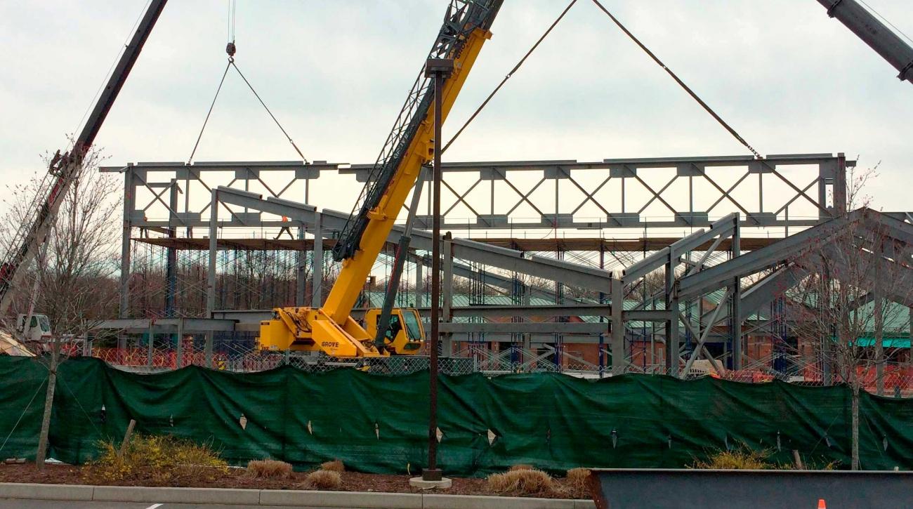 Harvest Time Church – Greenwich – Construction Progress