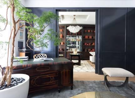 Chelsea Loft - New York - View into Salon