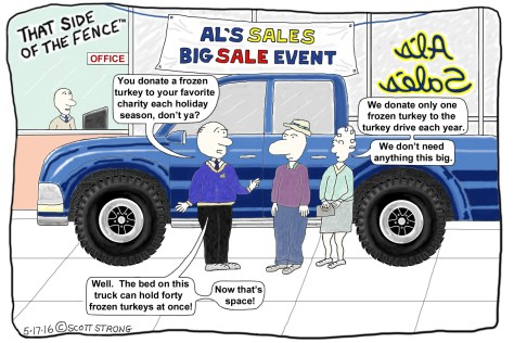 Car Salesman Trying to Sell Big Truck.jpg
