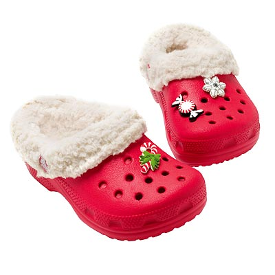 Picture of Christmas Crocs footwear