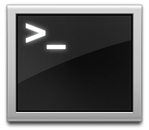 Terminal application icon