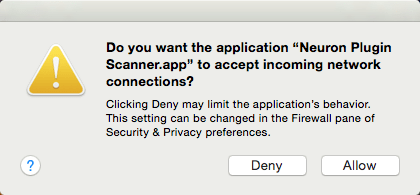 screen capture of the alert dialog box