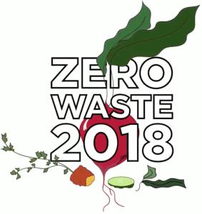 Zero Waste 2018 logo