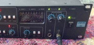 Photo of the interface after the repair