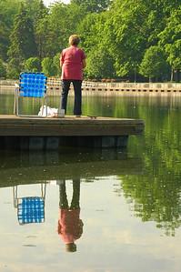 Fishing on the Seneca River