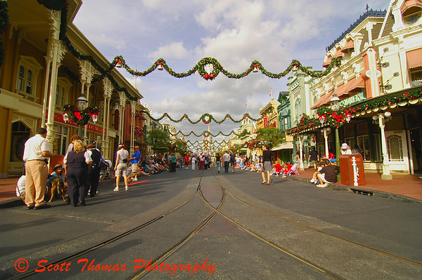 Main Street USA in Walt Disney Worlds Magic Kingdom.