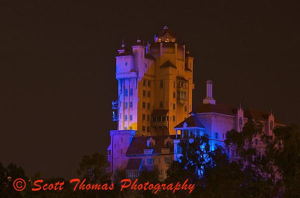 Twilight Zone Tower of Terror in Disneys Hollywood Studios.