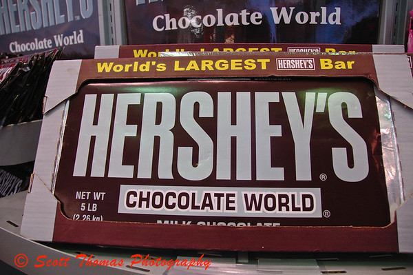 Five pounds of Hershey Chocolate.