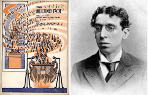 Zangwill and his Melting Pot Playbill