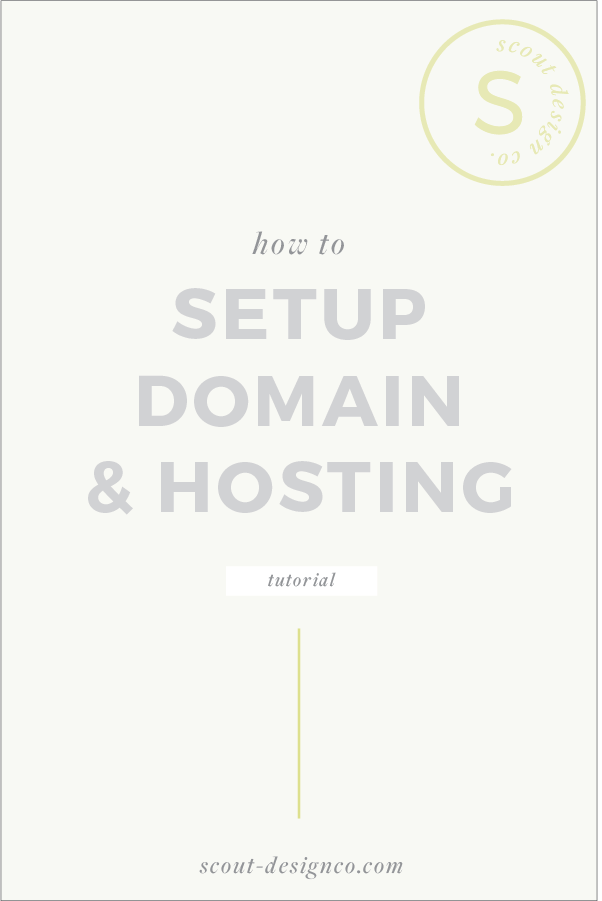 How To Set up Domain and Hosting for WordPress