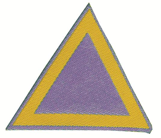 Distintivo di sestiglia indaco