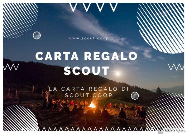 carta regalo scout
