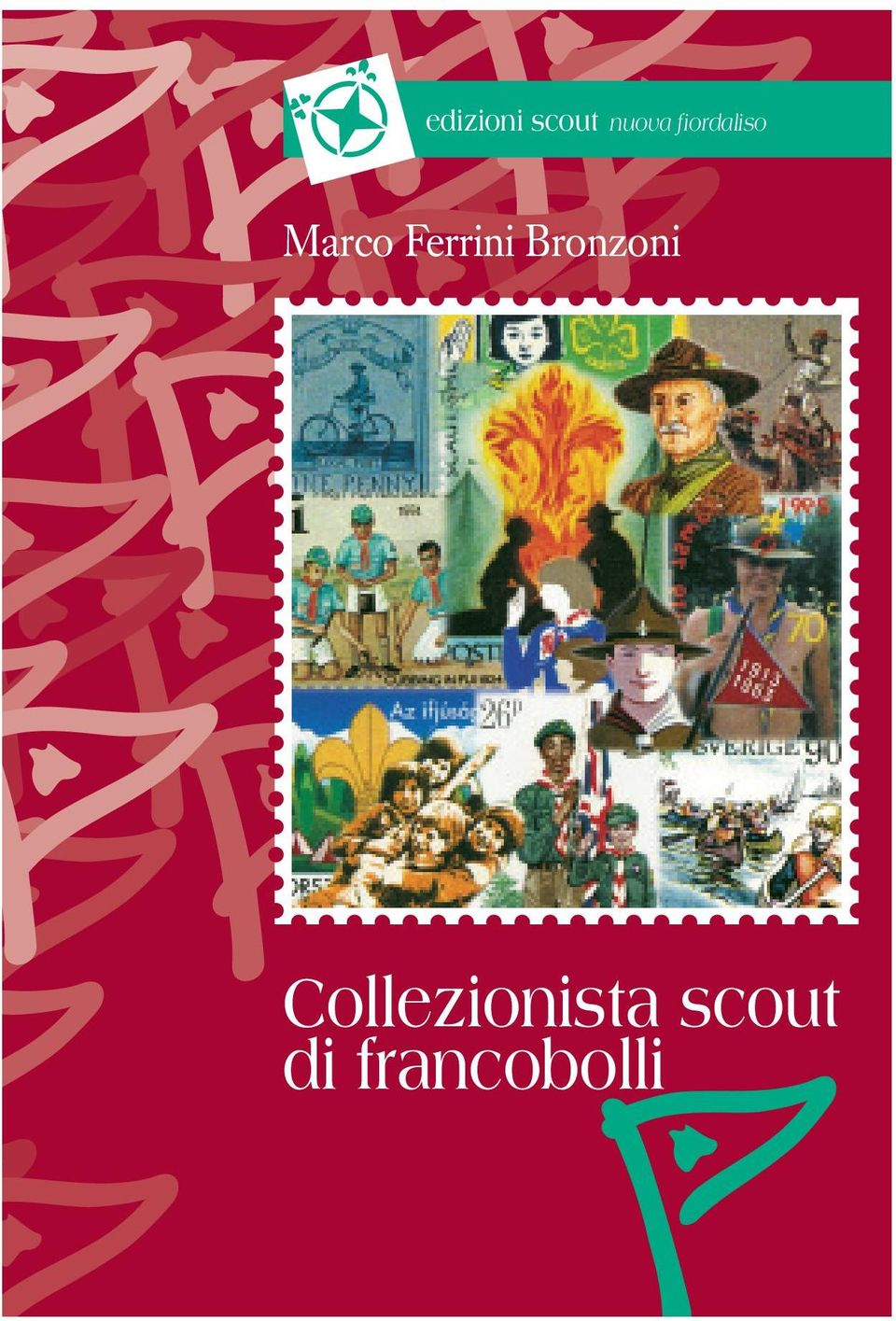 Collezionista scout di francobolli