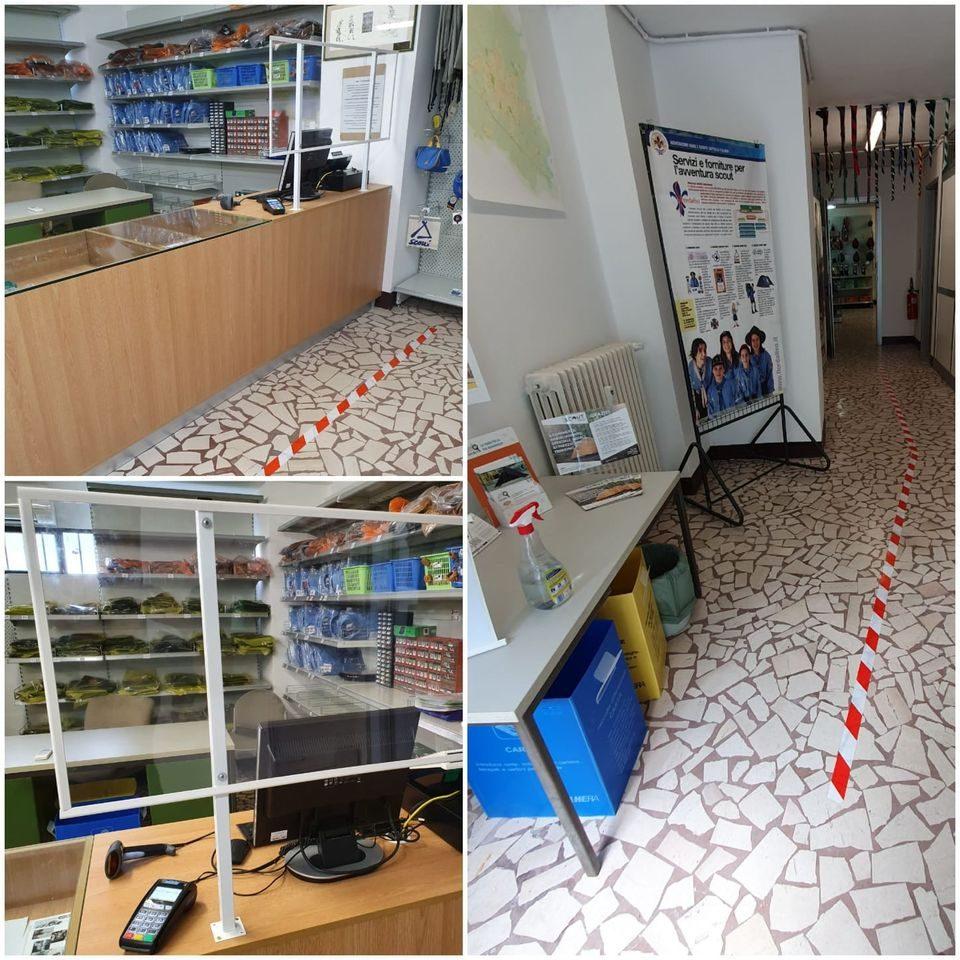 Riapertura filiale di Modena