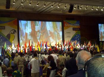 Inauguración Conferencia Scout Brasil