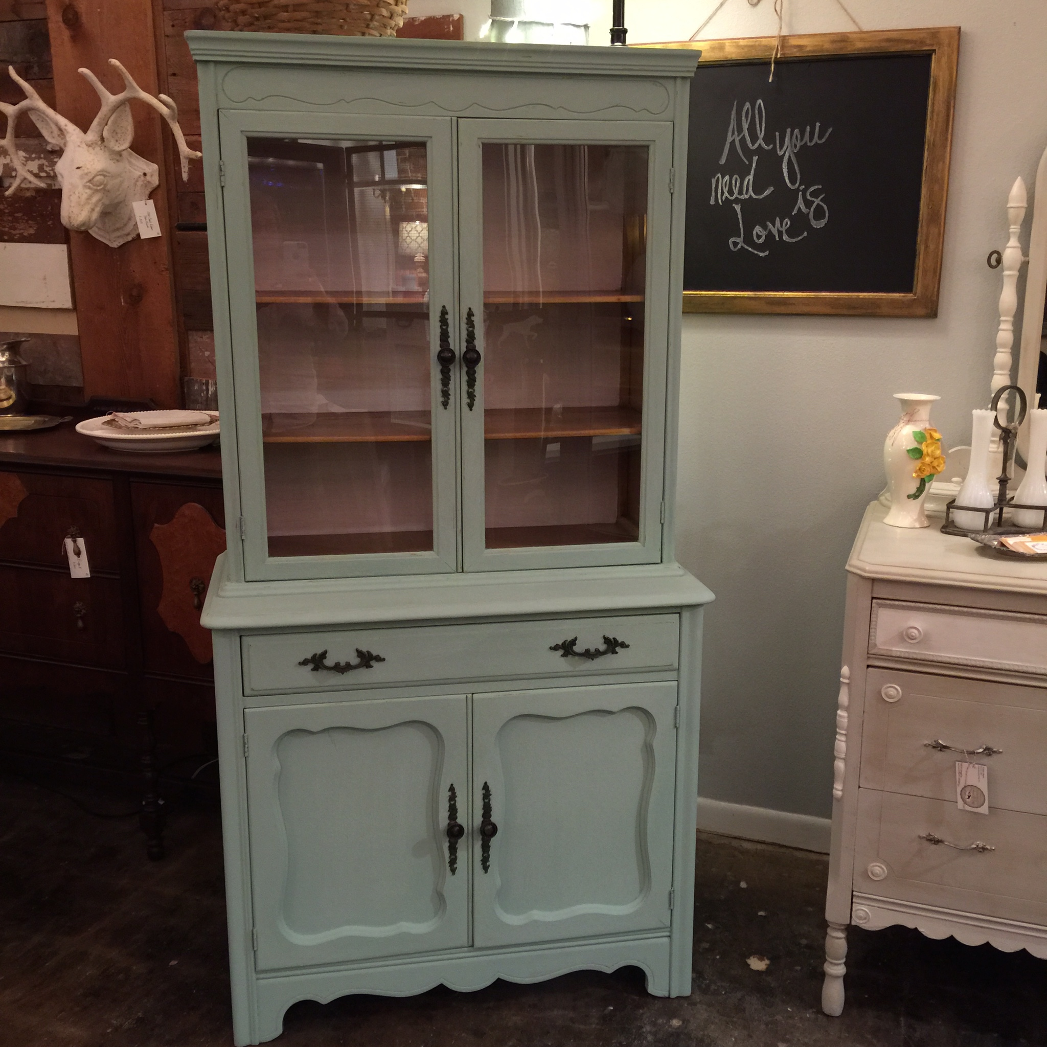 Simplevintage With Scout Amp Tag Hand Painted Furnishings