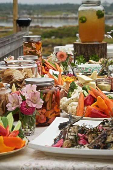 Tastes of Summer for an amazing wedding I got to cater