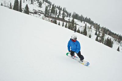 Westward Snow Snowboarder