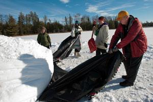 Northern Tier Polar Dome Construction