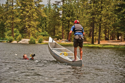 Are You Tougher Than a Boy Scout Canoe Racing