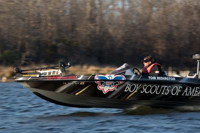 Tom Redington's fishing boat