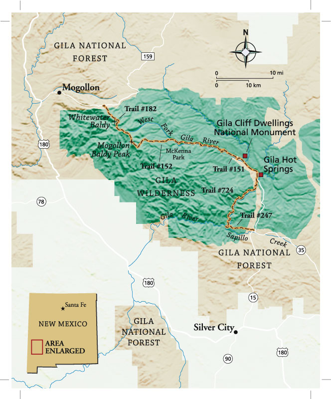 New Mexico Gila National Forest