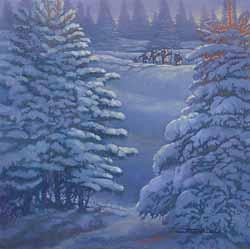 Boy Scout Image — Winter Hiking