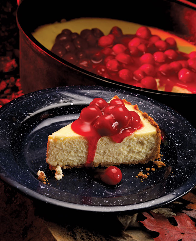 Dutch Oven Cheesecake