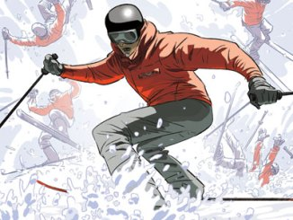 Survive This Downhill Skiing