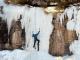 Celin Serbo Ice Climbing