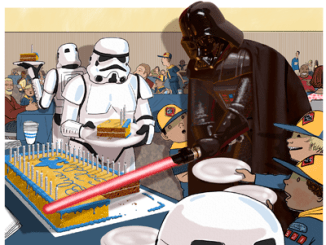 Star Wars Blue and Gold Ceremony