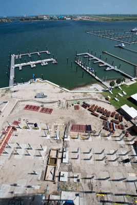 Sea Scout Base-Galveston Aerial