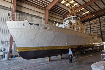 Sea Scout Base-Galveston Point Glass