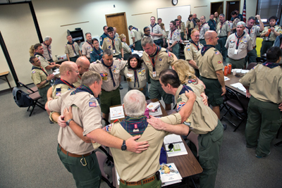 Wood Badge Teamwork