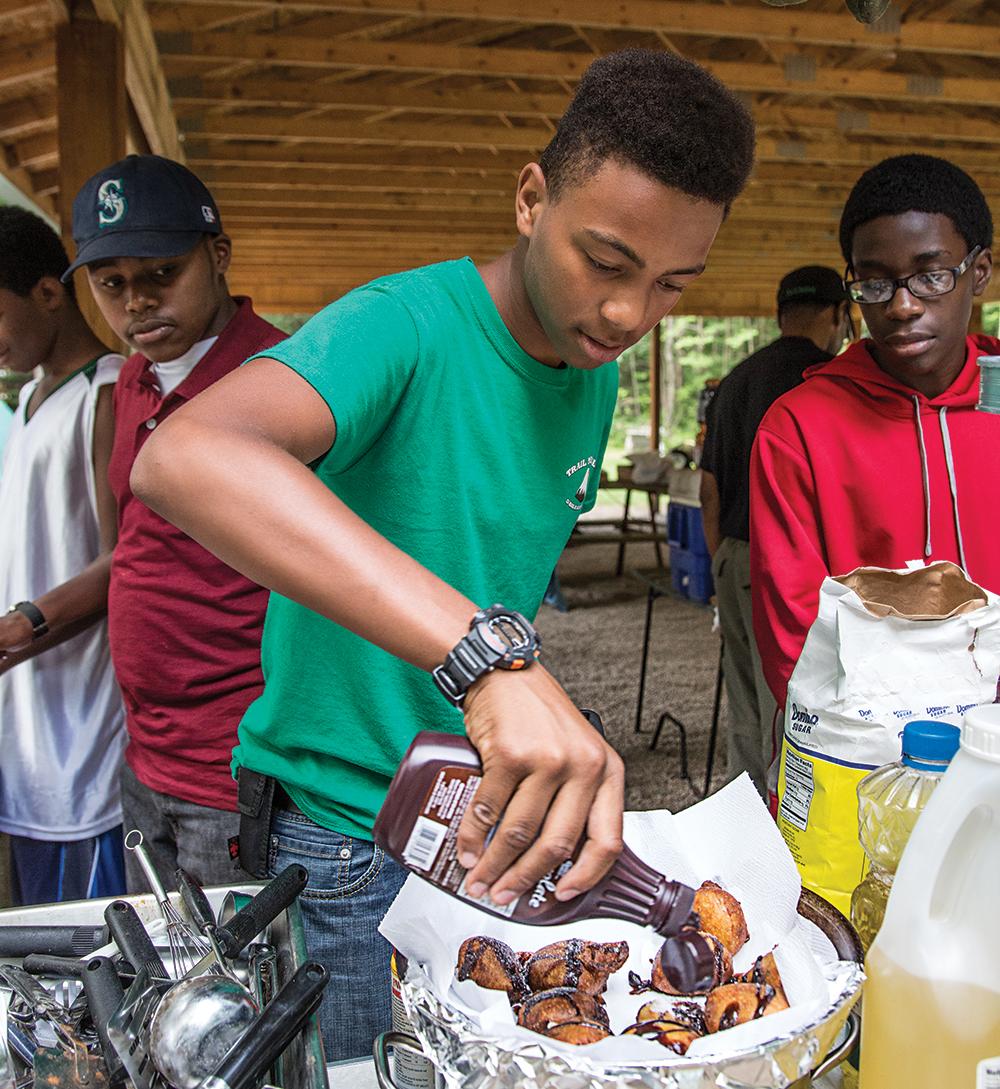 Canoe Base Cooking