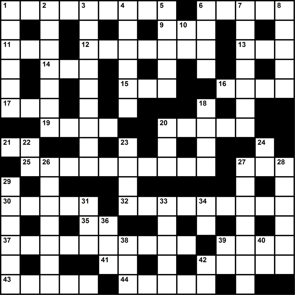 Test Pattern Crossword Awesome Decorating Ideas