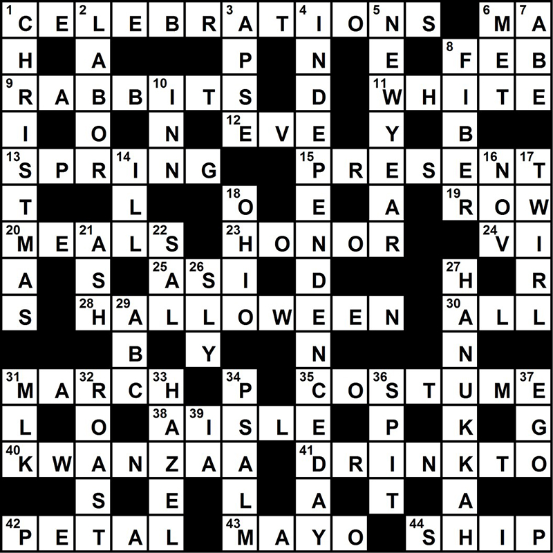 CrosswordSolution